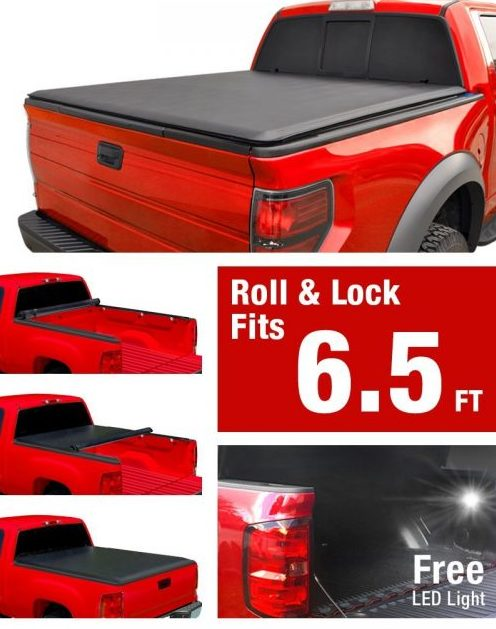 Premium Roll Up Truck Bed Tonneau Cover