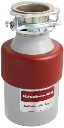 Roll over image to zoom in KitchenAid Kitchen Aid KCDB250G 1/2 HP Continuous Feed Garbage Disposal