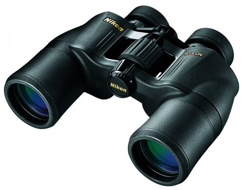 Roll over image to zoom in Nikon NIKON Aculon A211 10x42 Binoculars, Black