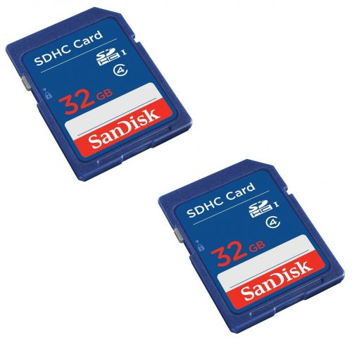 Roll over image to zoom in SanDisk SanDisk 32GB Class 4 SDHC Flash Memory Card