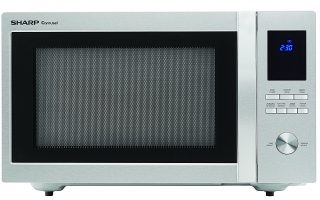 Roll over image to zoom in Sharp Sharp Microwaves ZSMC1655BS Sharp 1,100W Countertop Microwave Oven