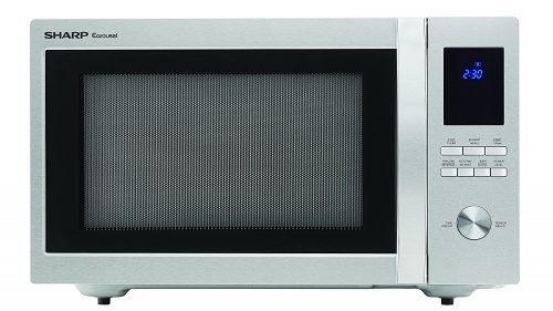 Roll over image to zoom in Sharp Sharp Microwaves ZSMC1655BS Sharp 1,100W Countertop Microwave Oven-Microwave Ovens