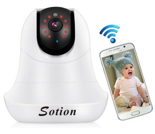 SOTION Baby Monitors Wireless WiFi Internet Network