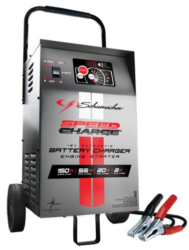 Schumacher SE-1555A 12V Automatic Wheeled Battery Charger