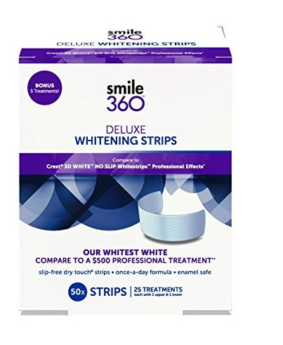 Smile 360 Deluxe Teeth Whitening Strips