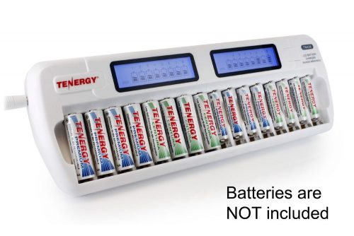 Tenergy Tenergy TN438 16 Bay Smart Charger with LCD and Built-in IC Protection