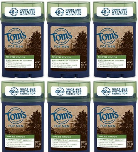 Tom's of Maine North Woods Men's 48-Hour Antiperspirant Deodorant