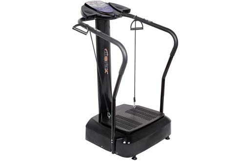Vibration Platform Fitness Machine withYoga Straps
