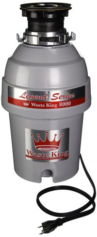 Waste King Legend Series 1 HP Continuous Feed Garbage