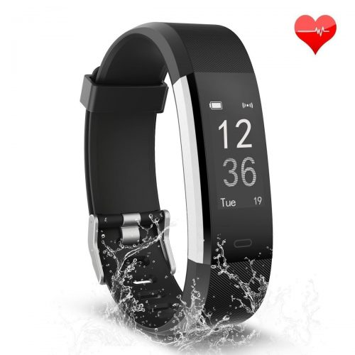 Waterproof Activity Tracker with Heart Rate Monitor Bluetooth Smart Watch