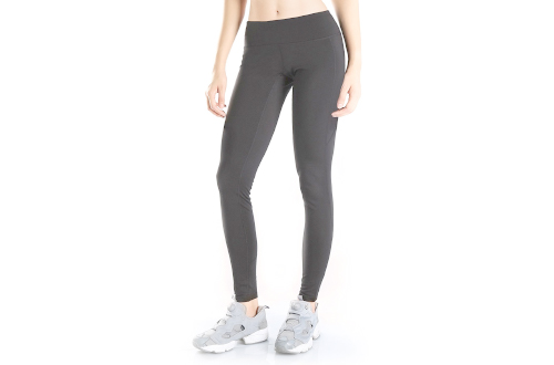 Women's Water Resistant Fleece Lined Thermal Tights Winter Running Cycling Skiing Leggings with Zippered Pocket