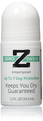ZeroSweat Antiperspirant Up-to 7 Day Protection Per Use-No Mess Application