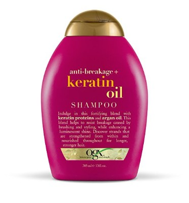 OGX Shampoo, Anti-Breakage Keratin Oil, 13 Oz.