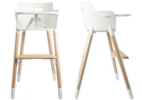 AsunFlower Wooden High Chair