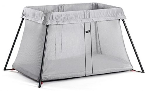 BABYBJORN Travel Crib Light – Silver