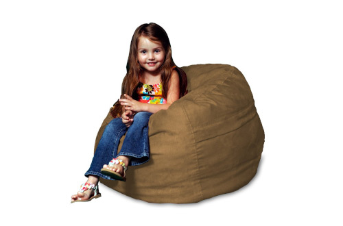 Chill Sack Bean Bag Chair: Large 2' Memory Foam Furniture Bean Bag