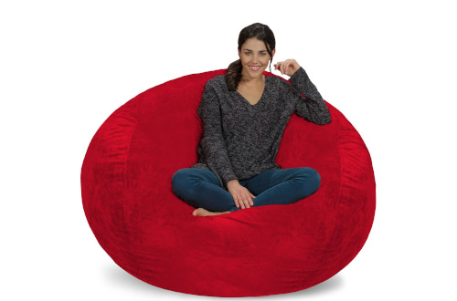 Chill Sack Bean Bag Chair: Giant 5' Memory Foam Furniture Bean Bag