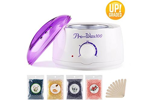 Wax Warmer Hair Removal Waxing Kit