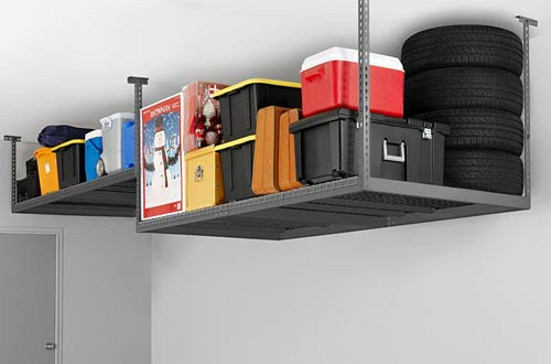 Ceiling Mount Garage Storage Rack