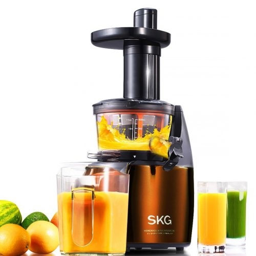 SKG Premium 2-in-1 Anti-Oxidation Slow Masticating Juicer & Multifunction