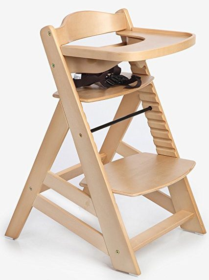 Sepnine Wooden Baby High Chair