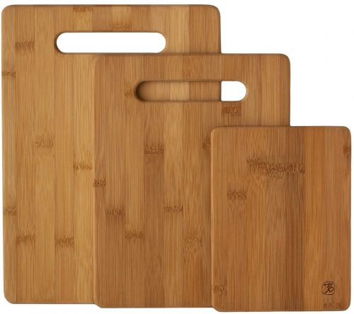 Totally Bamboo Original Bamboo Cutting & Serving Board