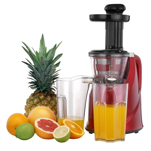 VonShef Professional Slow Fruit Vegetable Masticating Juicer Machine