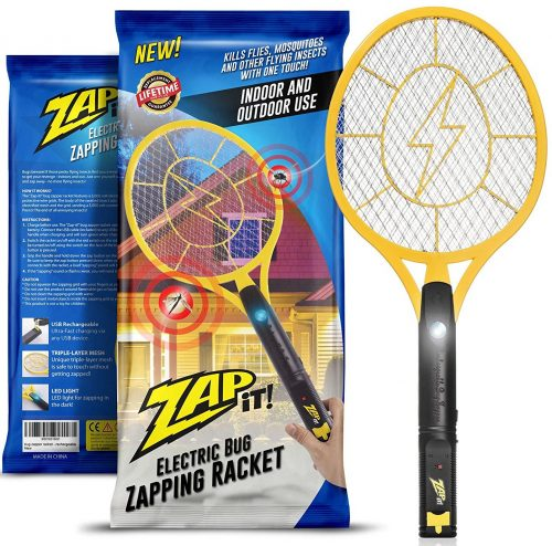 Zap-It! Bug Zapper - Rechargeable Mosquito, Fly Killer