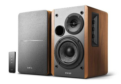 Edifier R1280T Powered Bookshelf Speakers - 2.0 Active Near Field Monitors - 42 Watts RMS