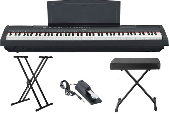 Yamaha P115 88 Weighted-Key Digital Piano