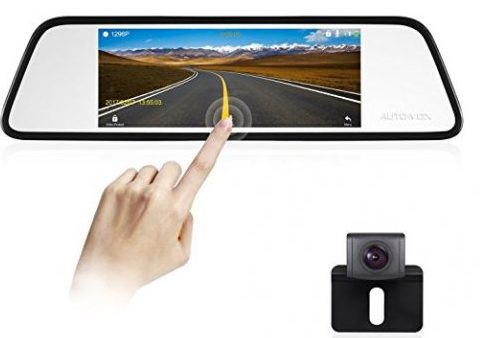 AUTO-VOX M8 Mirror Dash Cam Backup Camera Kit