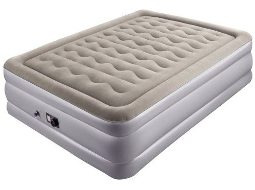 Air Mattress with Built-in Electric Pump, Sable Inflatable Airbed for Camping