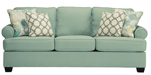 Ashley-Furniture-Signatures-Design-and-Daystar-Sleeper-Sofas-+-4-Pillows
