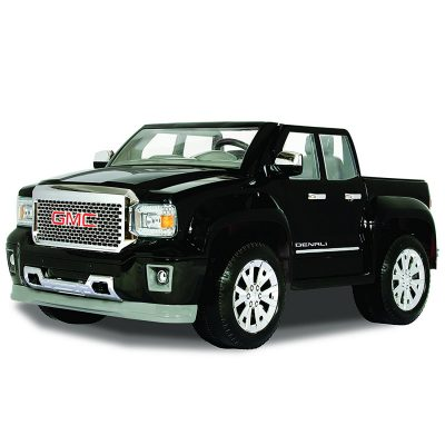 Rollplay GMC Sierra Denali 12-Volt Battery-Powered Ride-On, Black