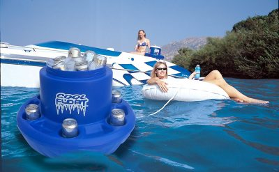 COOL FLOAT Plastic Floating Cooler