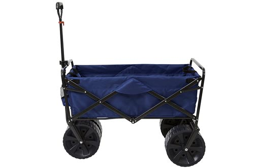Collapsible Folding All Terrain Utility Beach Wagon Cart