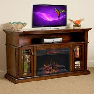 ChimneyFree-Infrared-Electric-Fireplace-Entertainment Centers