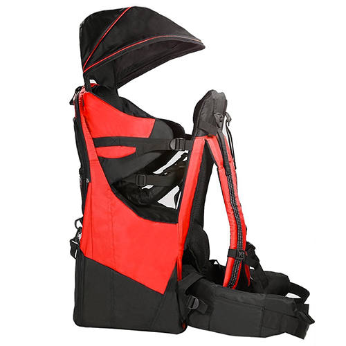 Deluxe-and-Red-Baby-Toddlers-Backpacks-Cross-Country-Carriers