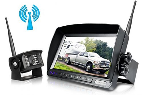 Digital Wireless Backup Cameras System Kit