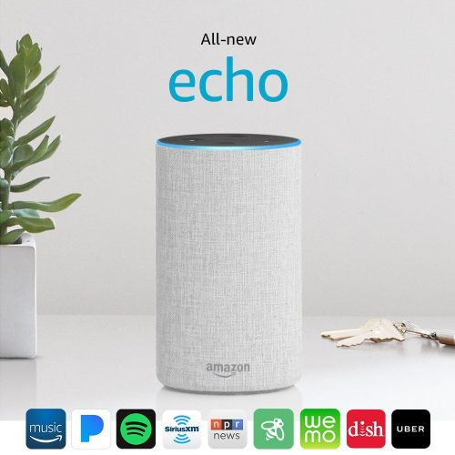 Echo Dots (2nd generation) – sand fabric