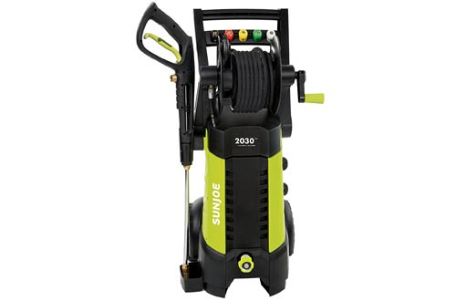 Electric Pressure Washer with Hose Reel