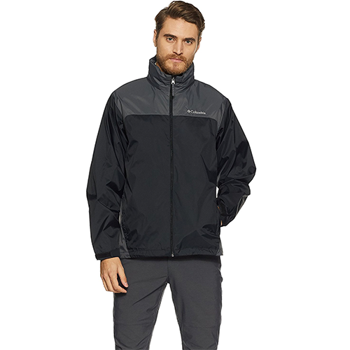 Glennaker-Lake-Front-Zip-Men's-Rain-Jacket-with-Hideaway-Hood