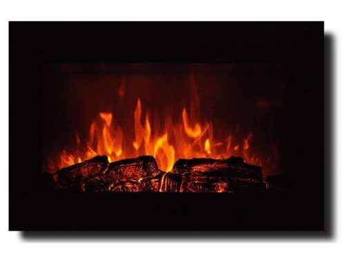 "Homeleader 35"" Electric Fireplace,Electric Fireplace Heater"