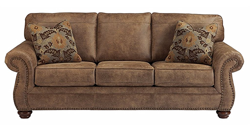 Larkinhurst-Traditional-Sleepers-Sofa-for-Queen-Size-and-Faux-Weather-Leather
