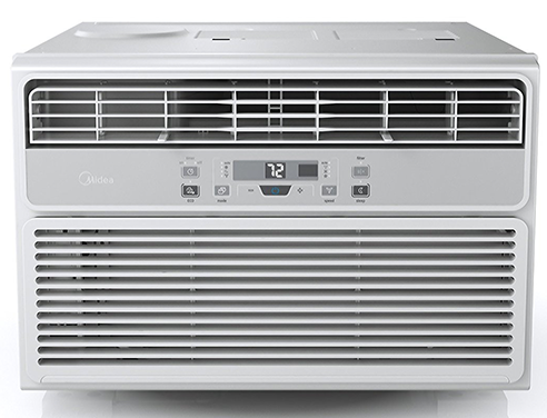 MIDEA-EasyCool-Window-Air-Conditioner-and-Dehumidifier-with-Timer,8000BTU