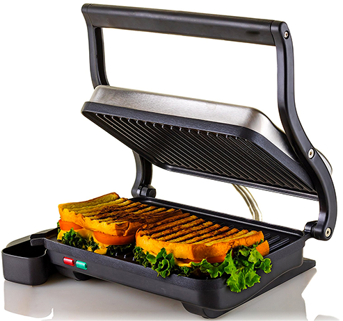 Ovente-2-Slice-Electric-Panini-Press