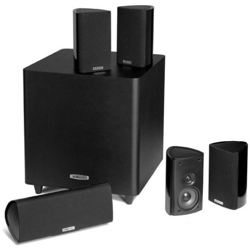 Polk-Audio-RM705-5.1-Home-Theater-System-(Set-of-Six,-Black)