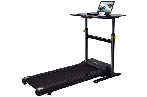 Goplus Electric Treadmill Desk Standing