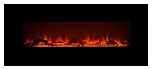 Touchstone 80001 Onyx Wall Hanging Electric Fireplace-Electric Fireplaces