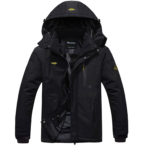 Wantdo-Men's-Mountain-Waterproof-Fleece-Ski-Jacket-Windproof-Rain-Jacket